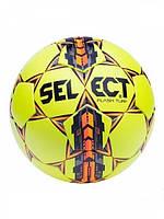 Мяч футбольный SELECT FLASH TURF (желтый-серый-оранжевый)