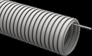 Труба гофрированная ПВХ d=20мм с зондом (100м) IEK, фото 2