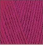 Alize Lanagold (Ализе Лана Голд) рубин №649 (Пряжа, нитки для вязания полушерсть), фото 1