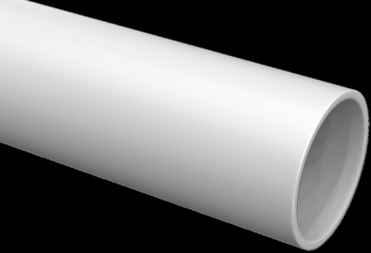 Труба гладкая жесткая ПВХ d=16мм серая (111м) 3м IEK