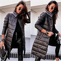 Куртка женская демисезонная чёрная 42-44, 46-48, 50-52