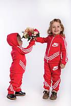 Е126/1 Детский спортивный костюм на флисе , фото 2