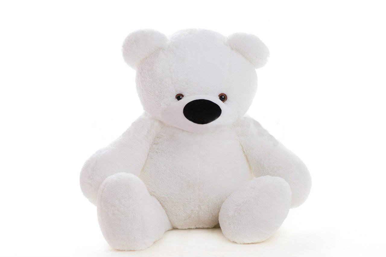 Большой плюшевый медведь DIZZY Бублик 200 см белый