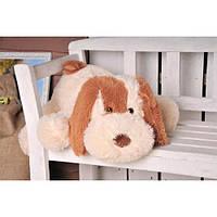 Плюшевая Собачка DIZZY Шарик 55 см персиковый, фото 1