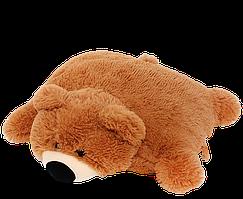 Подушка-іграшка DIZZY ведмедик 45 см коричнева