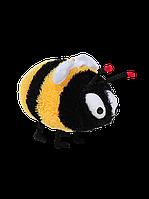 Мягкая игрушка DIZZY Пчелка 33 см черно-желтая