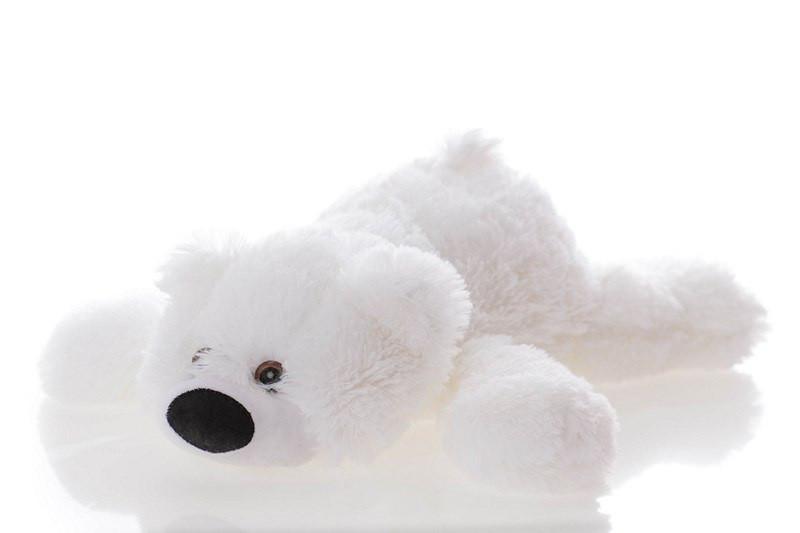 Плюшевый Мишка Умка 55 см белый