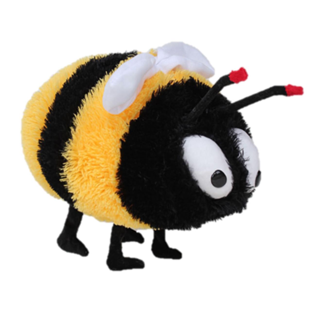 Мягкая игрушка DIZZY Пчелка 43 см желто-черная