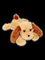 Плюшевая Собака Тузик 65 см медовый, фото 1