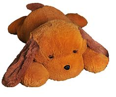 М'яка іграшка Собака Тузік 90 см медовий