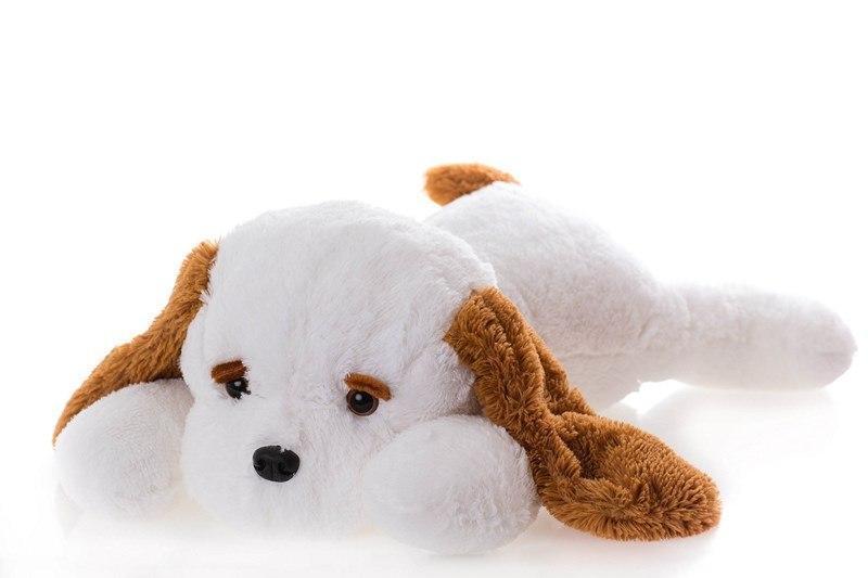 Мягкая игрушка DIZZY Собака Тузик 90 см белый