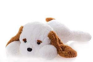 Большая плюшевая Собака DIZZY Тузик 140 см белый