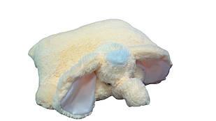 Подушка-іграшка DIZZY Слон 55 см персиковий