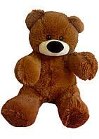 Плюшевый медведь Бублик 45 см коричневый, фото 1