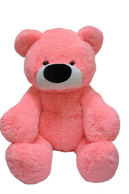 Большой мишка DIZZY Бублик 140 см розовый