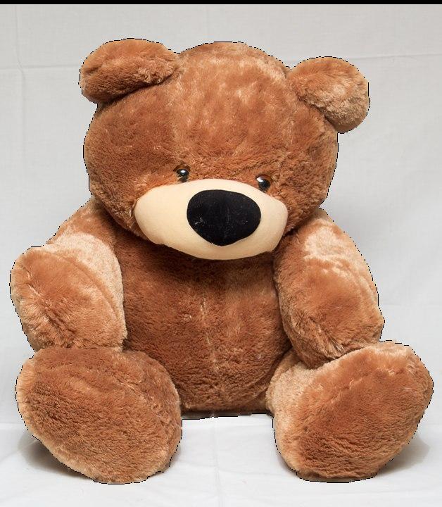 Большой медведь DIZZY Бублик 180 см коричневый