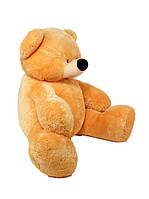 Большая мягкая игрушка Медведь Бублик 180 см медовый, фото 1
