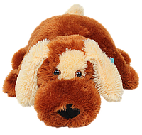 Подушка собачка DIZZY Шарик 45 см коричневый, фото 1
