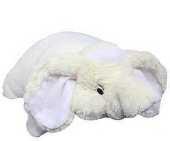 Подушка-игрушка DIZZY Слон 55 см белый