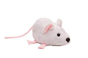 Мягкая игрушка Мышка белая 22 см