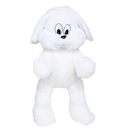 Большой плюшевый зайчик Снежок 90 см белый