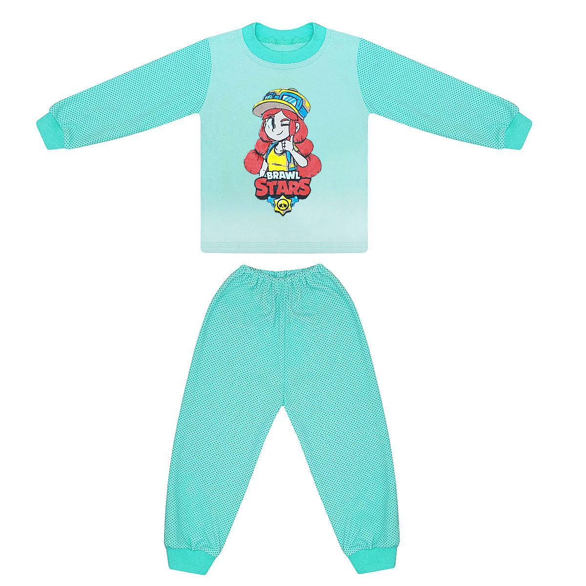 Детская пижама для девочки Brawl stars интерлок