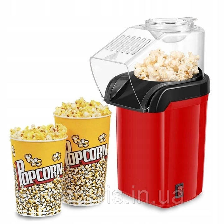 Аппарат для приготовления попкорна Popcorn Maker домашняя мини-попкорница