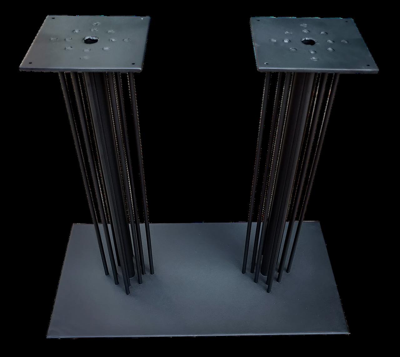 Основание для прямоугольного стола Настя Дабл. Высота 725 мм.