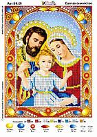 """Схема для вишивки """" Святе сімейство """" БК-20"""