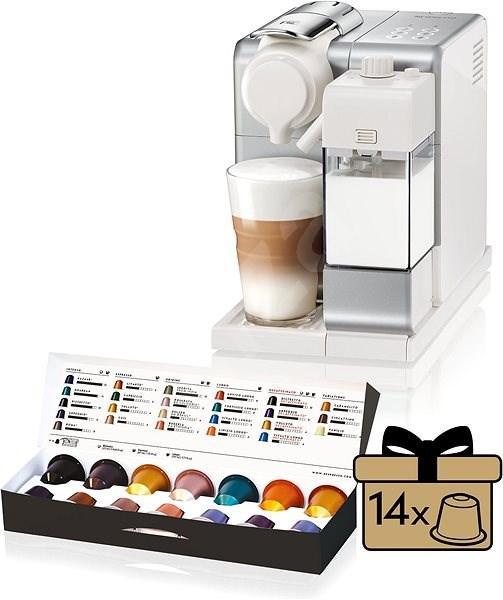 Кофемашина капсульная Delonghi Nespresso Lattissima Touch EN 560 Silver (Неспрессо) + подарок 14 капсул