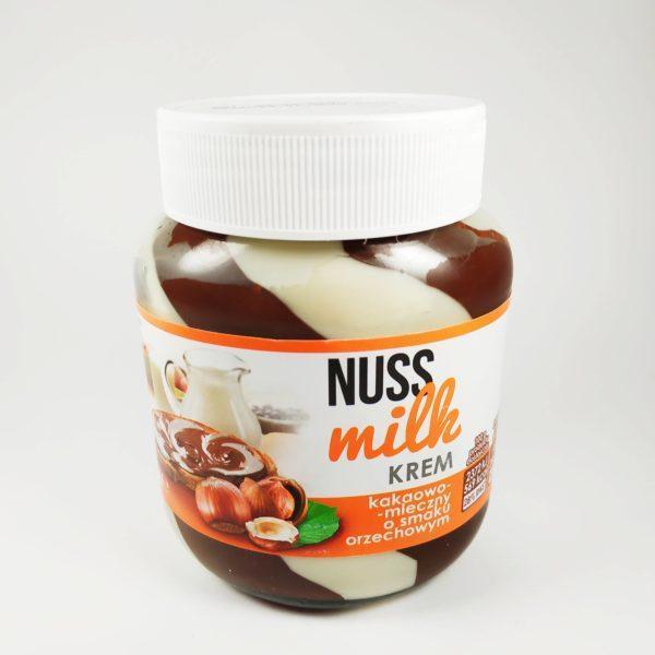Шоколадно-молочная паста Nuss Milk, 400г