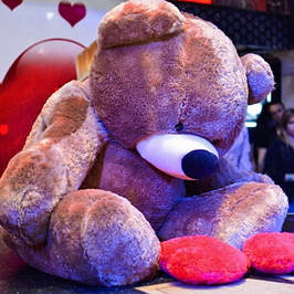 Великий плюшевий ведмідь 200 см