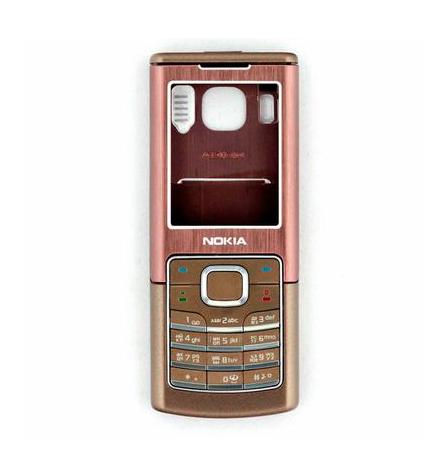 Корпус для Nokia 6500с коричневый