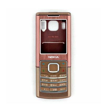 Корпус для Nokia 6500с коричневый, фото 2