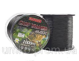Леска CARP YAMATO - BLACK 1 000 m / 0.30 mm