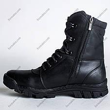 Берцы Зимние, Военные Комбат Черный, фото 2