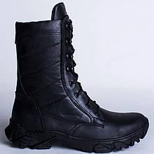 Берцы Кожаные, Демисезонные Шторм-2 Черный