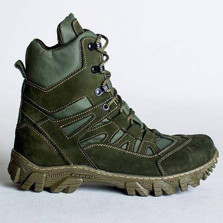 Ботинки Тактические, Демисезонные Апачи Олива, фото 2