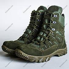 Ботинки Тактические, Демисезонные Апачи Олива, фото 3