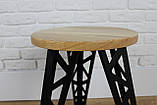 Деревянный табурет только оптом от 50 шт, фото 3