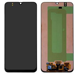 Модуль для Samsung Galaxy M30, Samsung M305, черный, дисплей + сенсор