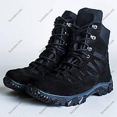Ботинки Тактические, Зимние Апачи Черный, фото 2