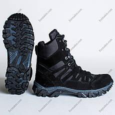 Ботинки Тактические, Зимние Апачи Черный, фото 3