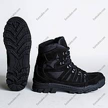 Ботинки Тактические, Демисезонные Комбат Черный, фото 2