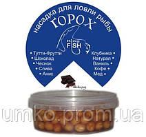 Насадка горох крашеный KING FISH 150мл шоколад