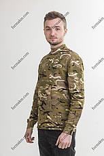 Гольф Военный с начесом Зимний Мультикам, фото 2