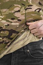Гольф Военный с начесом Зимний Мультикам, фото 3