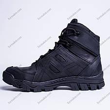 Ботинки Тактические, Демисезонные Кайман Черный, фото 3