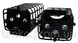 Фидерная кормушка с петлёй метал.чёрная,закрытая 30 гр.