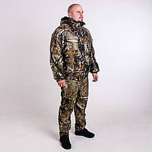 Костюм Камуфляжний Зимовий Не Промокаемый Для Полювання та Риболовлі Алова Мисливець